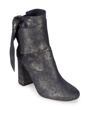Sally Suede Booties by Sigerson Morrison