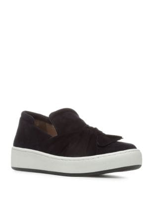Celest Suede Slip-on Sneakers by Donald J Pliner
