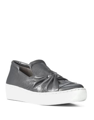 Celest Leather Slip-on Sneakers by Donald J Pliner