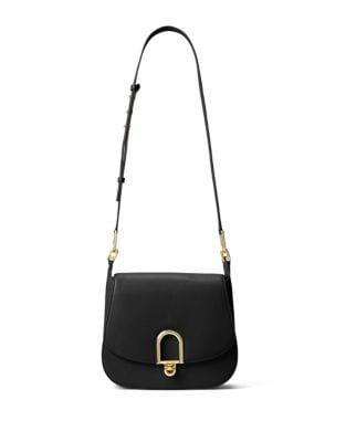 Delfina Leather Saddle Bag 500087273014