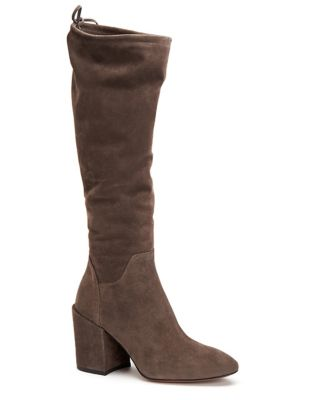 Floriana Suede Knee-High Boots by Aquatalia