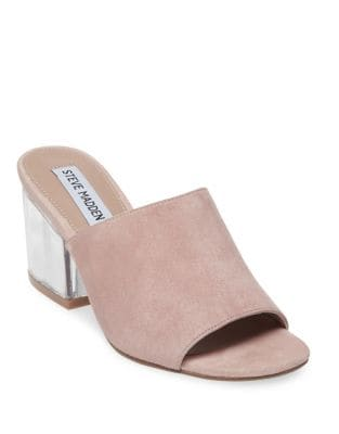 Dalis-C Suede Slip-On Sandals by Steve Madden