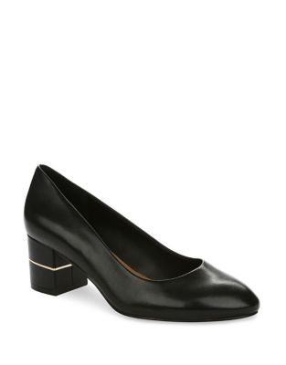 Amanda Leather Pumps by Tahari