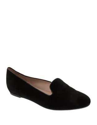 Waverly Suede Belgian Loafers by Patricia Green