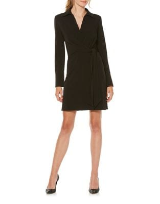 Faux Wrap Shirtdress by Laundry by Shelli Segal