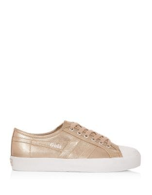 Coaster Metallic Canvas Sneakers by Gola