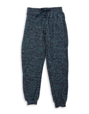 Girls Marled Jogger Sweatpants