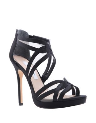 Fayette Luster Satin Sandals by Nina