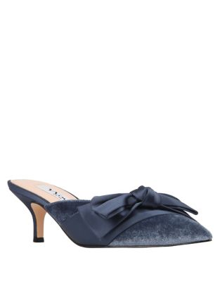 Timara Velvet Kitten Heel Pumps by Nina
