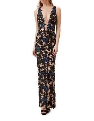 Studded Column Gown by Mandalay