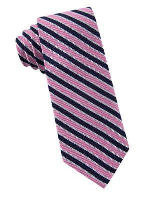 Boys Preppy Stripe Silk...