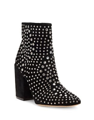Drista Studded Zip Booties by Vince Camuto