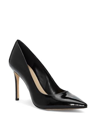 Savilla Patent Leather Stiletto Pumps by Vince Camuto
