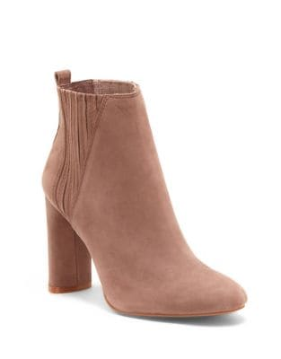 Fateen Suede Booties by Vince Camuto
