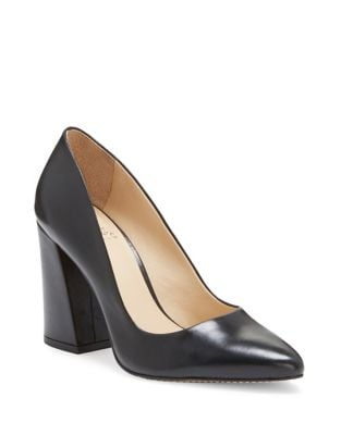 Talise Leather Pumps by Vince Camuto