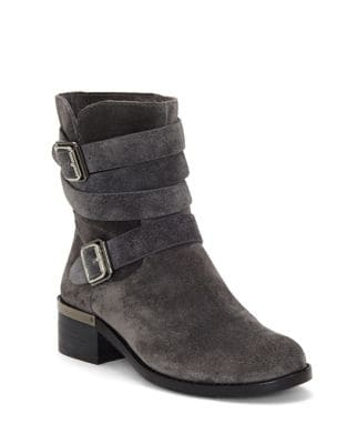 Webey Suede Ankle Boots by Vince Camuto
