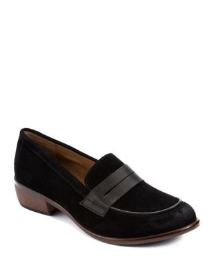 Penny Leather Slip-On Loafers by Latigo