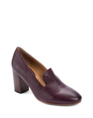 Man-Tailored Leather Pumps by Latigo