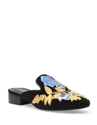 Bianca Suede Mules by Matisse