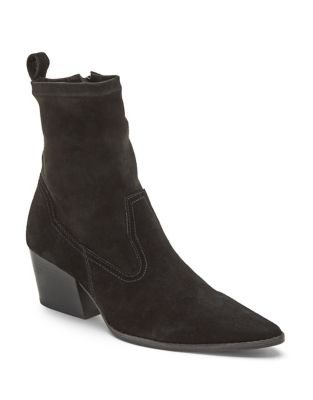 Flash Suede Booties by Matisse
