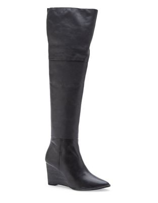 Sayde Over-The-Knee Leather Boots by Matisse