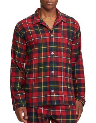 Checkered Cotton Pajama...