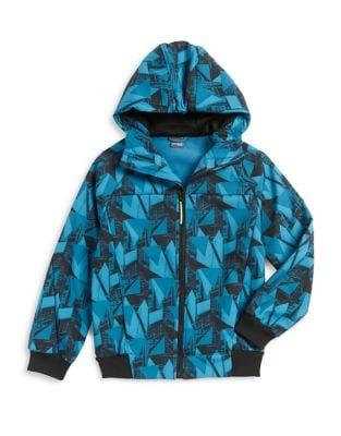 Boys Hooded ZipUp Jacket