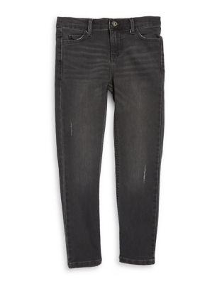 Boys Denim Whiskering Jeans