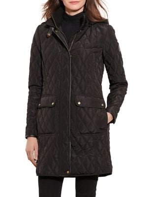 Quilted Hooded Jacket 500087292877