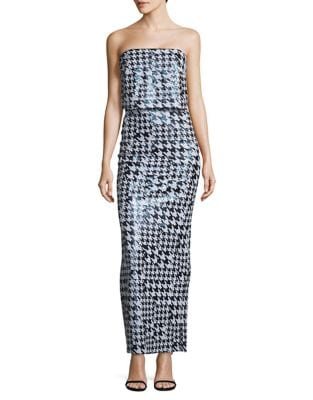 Houndstooth Bodycon Dress by Karl Lagerfeld Paris