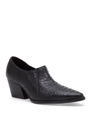 Madeleine Leather Ankle Booties by Matisse