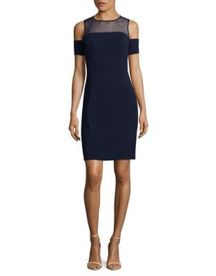 Cold Shoulder Bodycon Cocktail Dress by Decode 1.8