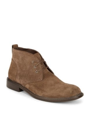 Suede Chukka Boots @...