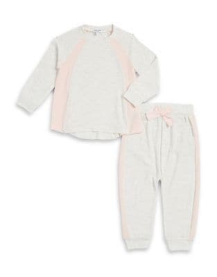 Baby's Loose Knit Football Sweat Top and Pants Set 500087299187