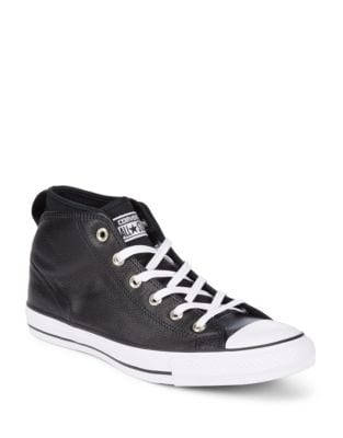 Chuck Taylor All Star Syde Leather High-Top Sneakers