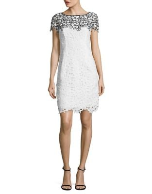 Floral Lace Mini Dress by Nue By Shani