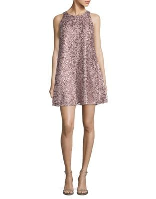 Floral Embroidered Dress by Belle Badgley Mischka