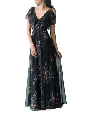 Cassie Print Maxi Dress by Jenny Yoo