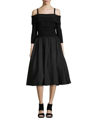 Ruched Waist Dress by Eliza J