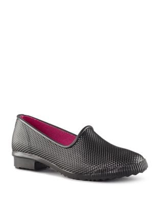 Ruby Rubber Slip-On Flats by Cougar
