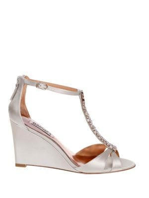 Romance Satin Wedges by Badgley Mischka