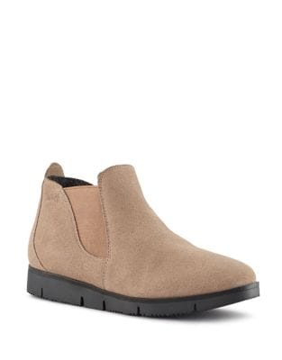 Sass Suede Waterproof Slip-On Booties by Cougar