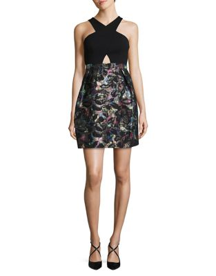 Front Keyhole Sheath Dress by Aidan Aidan Mattox