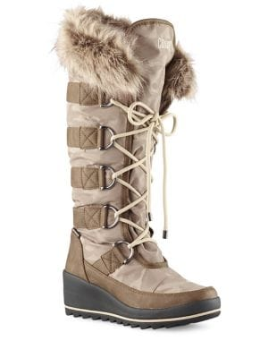 Lancaster Lace-Up Mid-Calf Boots by Cougar