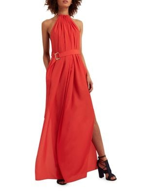 Spencer Halter Neck Maxi Dress by AQ/AQ