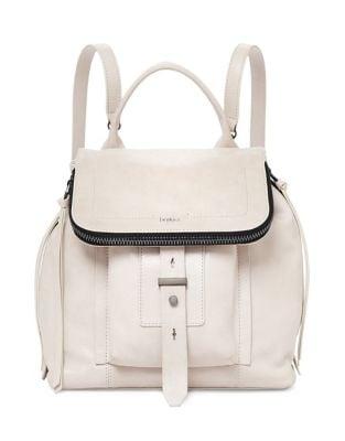 Adjustable Leather Backpack...