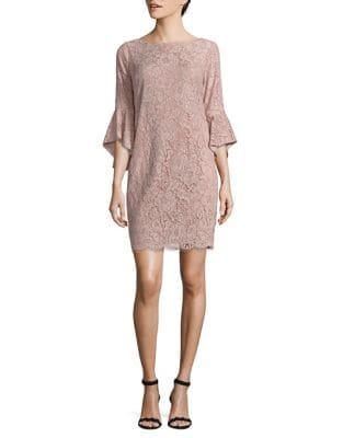 Laced Shift Dress by Chetta B