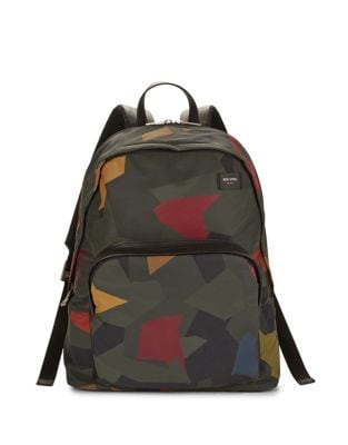 Printed Backpack @...