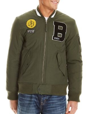 Applique Bomber Jacket...