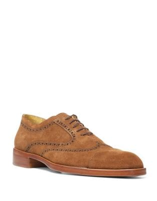 Suede Oxford Shoes 500087315773